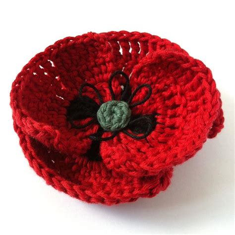 pattern crochet poppy field poppy crochet pattern by little conkers crochet