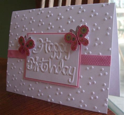 Embossed Birthday Card Ideas image result for card ideas using embossing folders