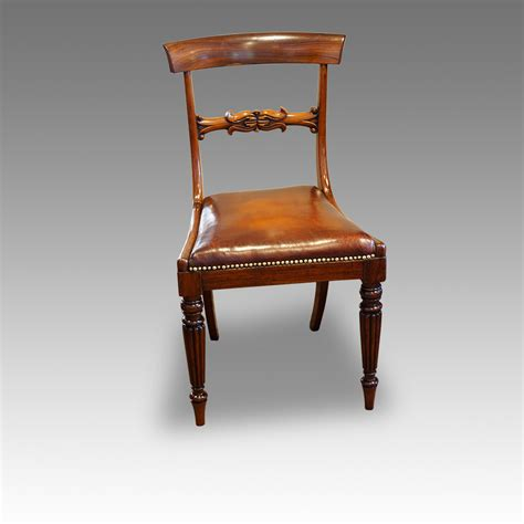 set of 8 william iv rosewood dining chairs now sold