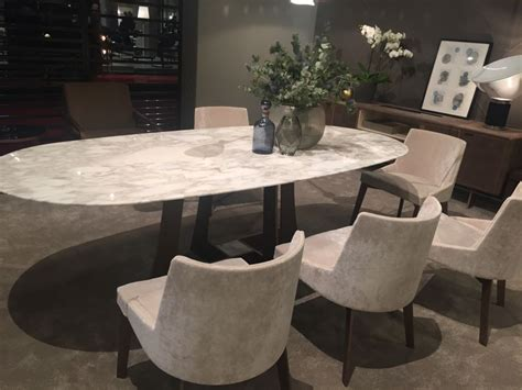 marbel dining table oval dining table designs a symbol of versatility and