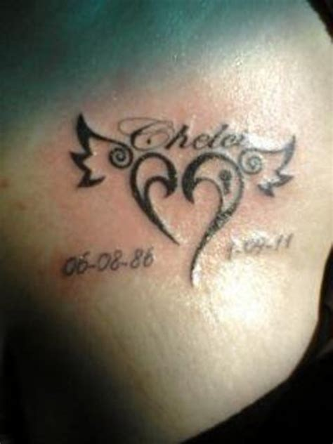 heartbeat tattoo memorial small memorial heart tattoo on ankle 187 tattoo ideas