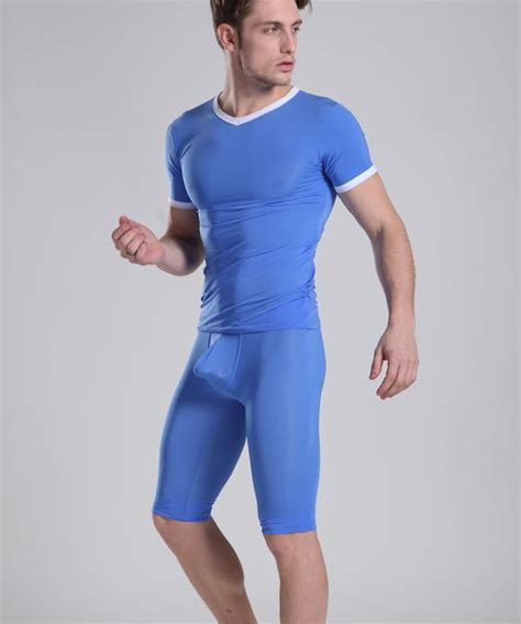 Nexx 33 Pajamas Code A 2018 wholesale mens sleepwear pajamas tight blue