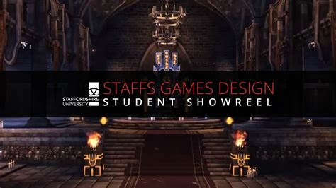 design management staffordshire university staffordshire university games design 2013 showreel youtube
