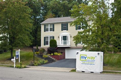 myway mobile storage mobile storage home staging mobile containers myway