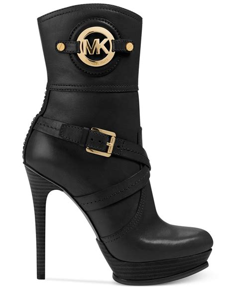 mk shoes macy s michael michael kors boots stockard booties absolutely