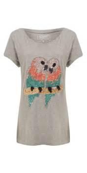 T Shirt Lovebird connection lovebird sequin t shirt in grey mel
