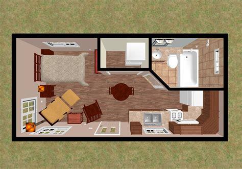 288 square feet floorplans cozy home plans