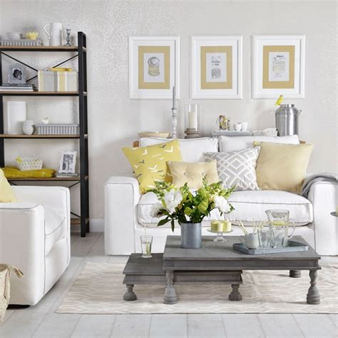 Grey And Yellow Living Room by Grey Living Room With Pale Gold And Yellow How To