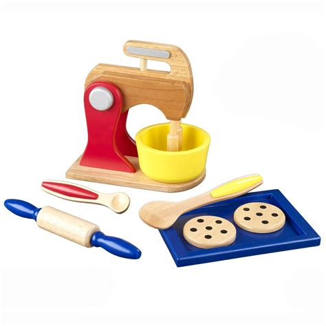 Play Kitchen Accessories by Kidkraft Primary Colors Baking Set 63165 Play Kitchen