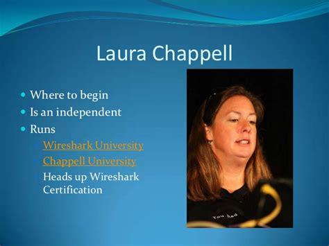 Wireshark Tutorial Laura Chappell   wireshark