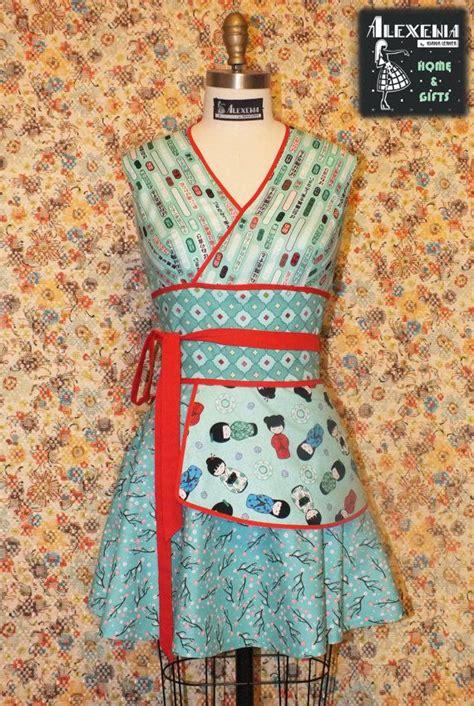 kimono apron pattern 189 best images about stylish aprons on pinterest sewing
