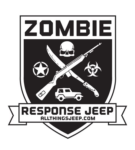 Jeep Wrangler Zombie Decals Images