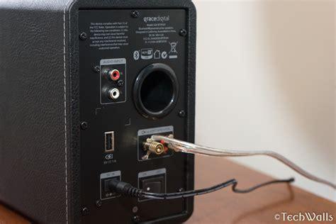 Speaker Mini M Tech grace digital bookshelf bluetooth speakers review cheap speaker system for audiophiles