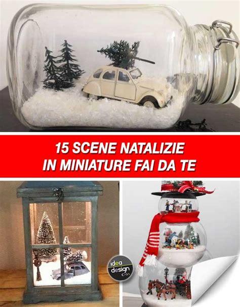 casa in miniatura una scena natalizia in miniatura per decorare casa 15
