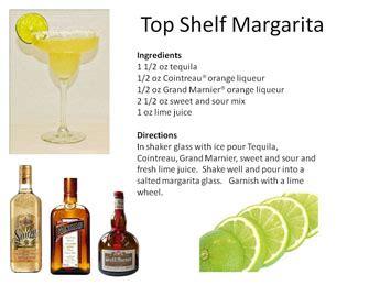 Top Shelf Margarita On The Rocks Recipe by Tequila Drinks Midnight Mixologist