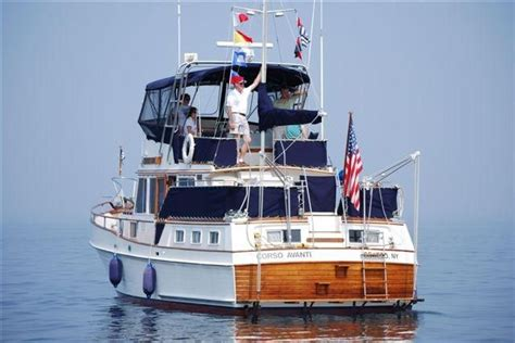 boat deal brokers brewerton ny 1981 grand banks 42 motoryacht power boat for sale www