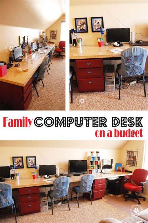 Diy Kids Computer Desk Station Budgeting Desks And Computer Desk Organization