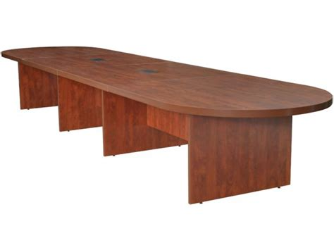 conference table with power racetrack conference table w 2 power data modules 16 conference tables