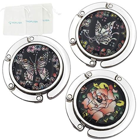 Hanger Set Murah 3 In 1 Motif Resleting single butterfly flower theme designed shoulder handbag