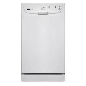 spt 18 in built in dishwasher in white sd 9252w the