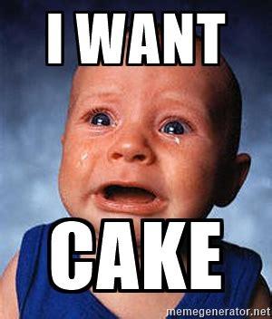 I Want A Baby Meme - meme i want cake image picsmine