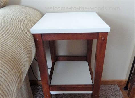 Wood Stool End Table by Bar Stool End Tables Welcome To The Woods