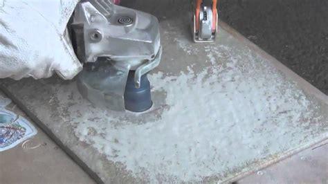 frese per piastrelle utilizzare una fresa diamantata per allargare e sagomare