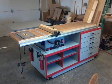Table Saw Workstation Plans by Table Saw Workstation By Ben Miller Lumberjocks