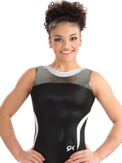 gk elite catalog 3799 black tie gk elite sportswear gymnastics leotard