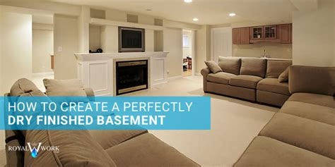 how to create a perfectly finished basement royal work