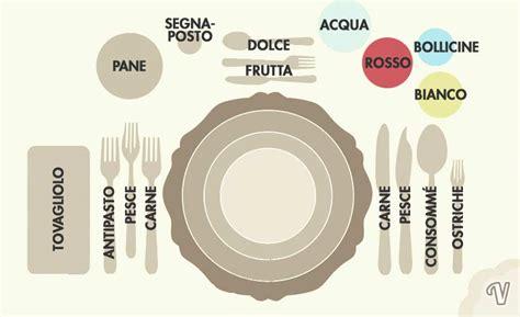 posizione bicchieri a tavola la pizza si mangia con le o con le posate silvio