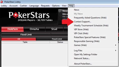 24 7 servizio clienti pokerstars support