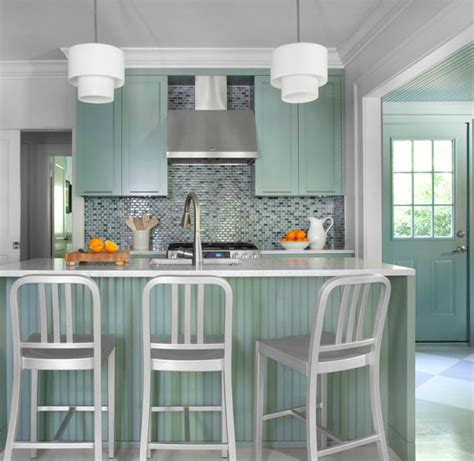 gray green kitchen cabinets mint green kitchen island design ideas