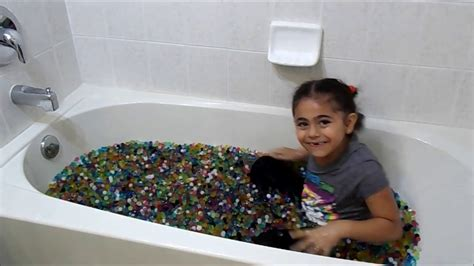 the bath challenge orbeez bath challenge