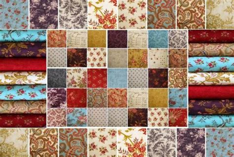 Moda Patchwork Fabric - fabric patchwork atelier by moda fabrics 70 pieces