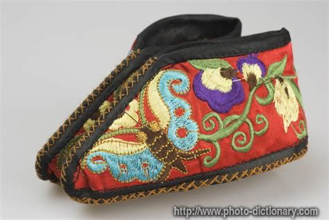Define Handcrafted - handcraft shoes photo picture definition at