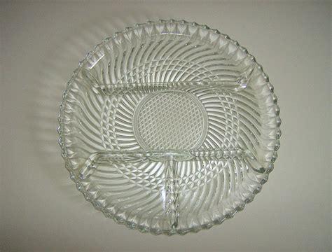 dominion pattern works dominion glass co 4 part relish dish swirl pattern