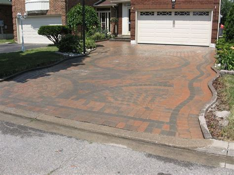 Driveway Decorations - terrific landscaping driveway for activities outside of
