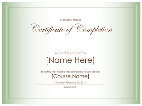 Certificate Template blank certificate templates to print activity shelter