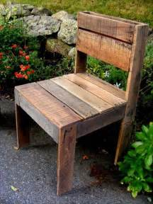 diy pallet outdoor armless chair pallet furniture diy