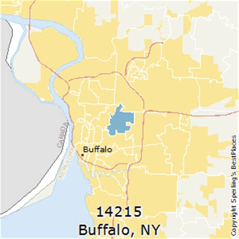 buffalo ny zip code map best places to live in buffalo zip 14215 new york