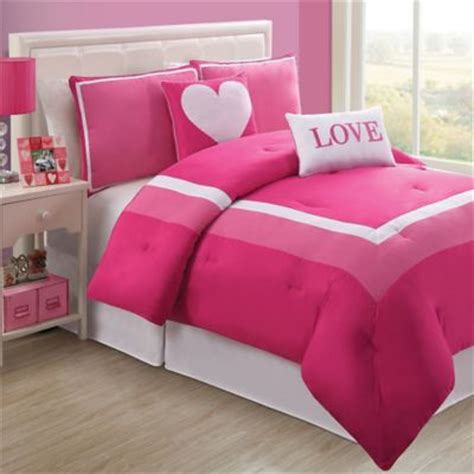 pink twin bed set pink comforter set from buy buy baby