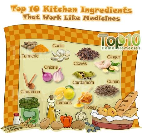 Kitchen Ingredients by 10 Kitchen Ingredients That Work Like Medicines Top 10