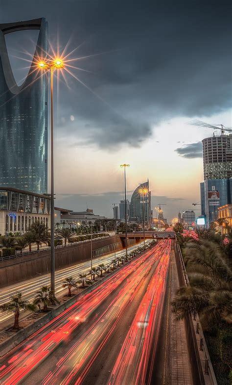 kingdom tower saudi arabia full hd  wallpaper
