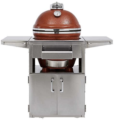 kamado joe stainless steel table kamado joe stainless steel table for big joe standalone