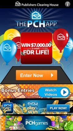Publishers Clearing House App - token exchange pch com projects to try pinterest cards cash gifts and gifts