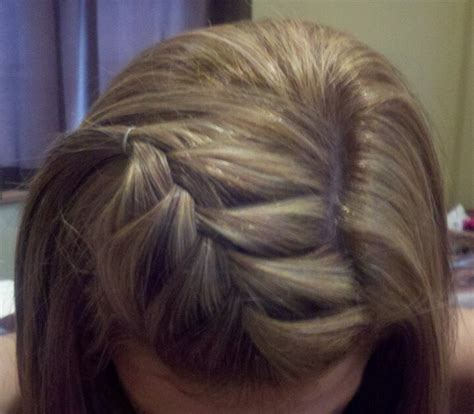 how to french braid bangs to the side easy step by step french braid bangs ideas to learn some style into me