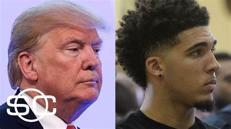 donald trump liangelo ball president trump asks chinese president for help in