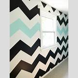 Teal And White Chevron Wall | 768 x 1024 jpeg 112kB