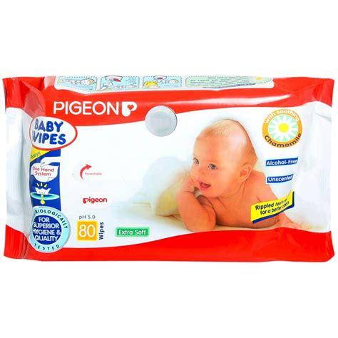 Pigeon Baby Chamomile 100gr pigeon baby wipes chamomile 80 sheets spice store